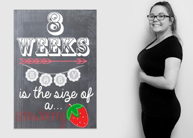 8 weeks bump board