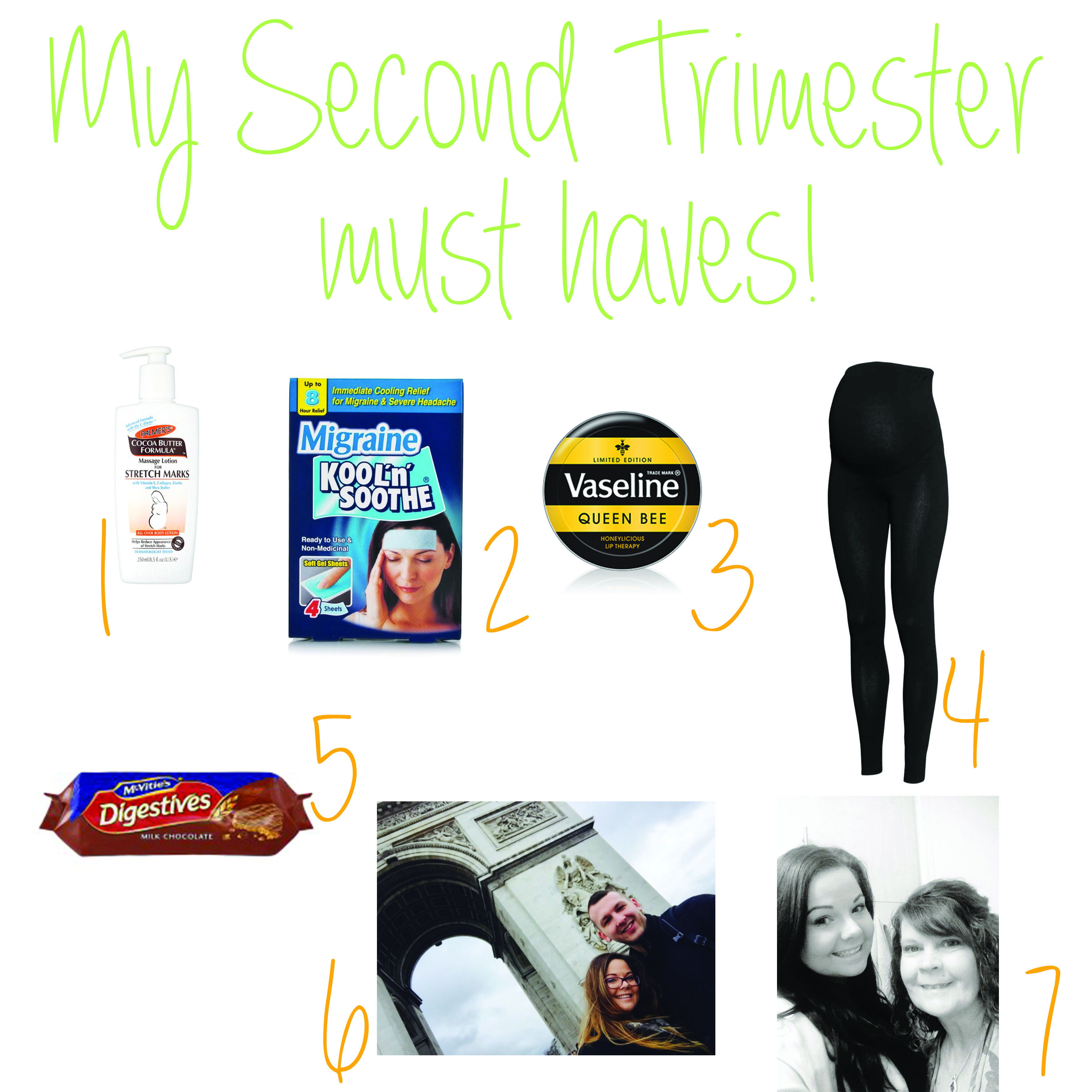 My second trimester must haves