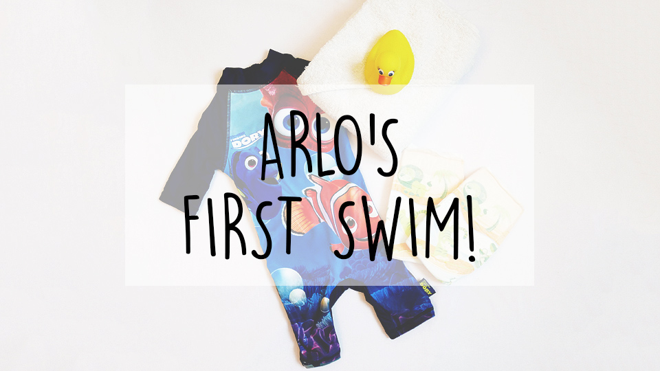 arlos-first-swim